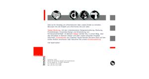 Design Webseite von cornelius / WDI