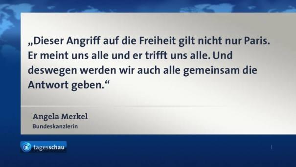Merkels Antwort