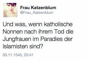 Twitter © Frau Katzenblum