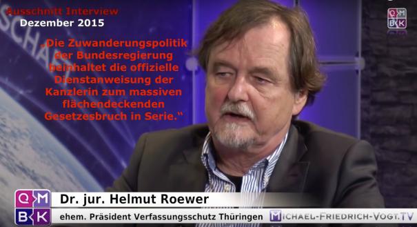 Dr. jur. Helmut Roewer am 27. Dezember 2015