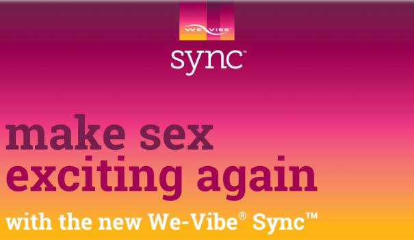Neues We-Vibe® Sync™