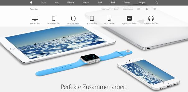 Apple Produktwelt