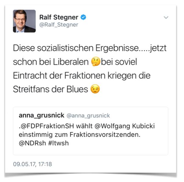 Tweet Ralf Stegner