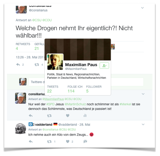 Twitter Account Maximilian Paus