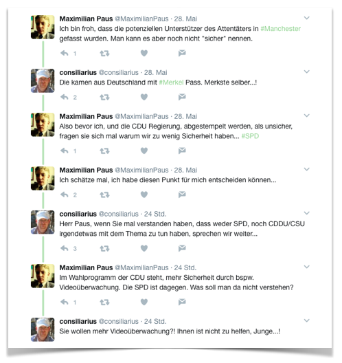 Twitter-Krieg mit Maximilian Paus