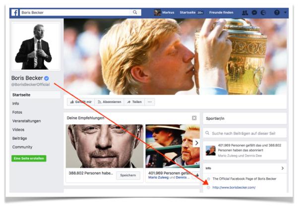Bildschirmfoto 23.07.2017 Boris Becker Facebook