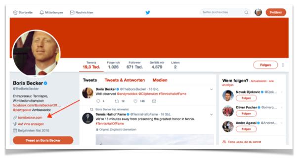 Bildschirmfoto vom 23.07.2017 Boris Becker Twitter