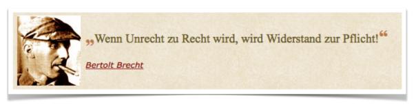 Zitat Brecht