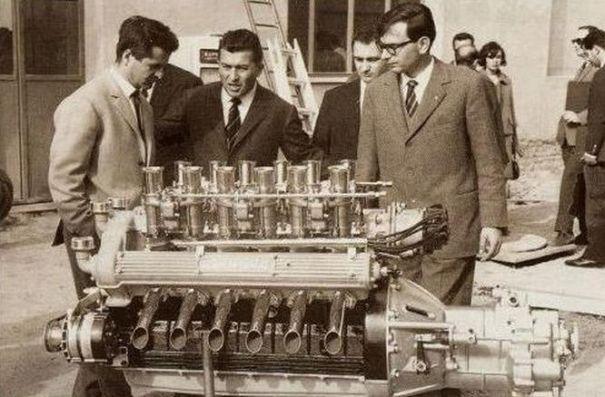 Giotto-Bizzarrini-Ferruccio-Lamborghini-Gianpaolo-Dallara