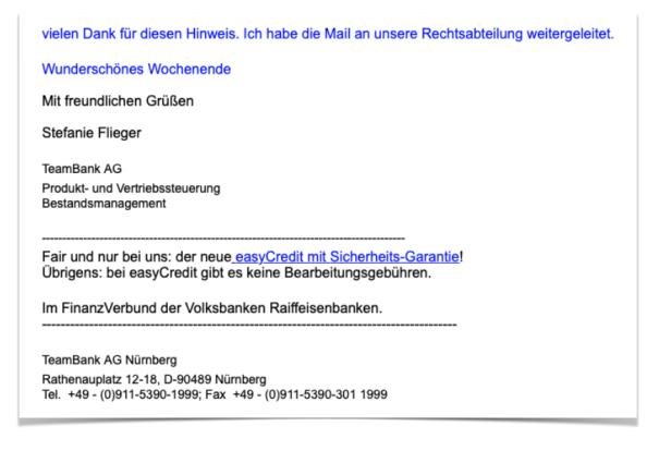 Mail VR Banken