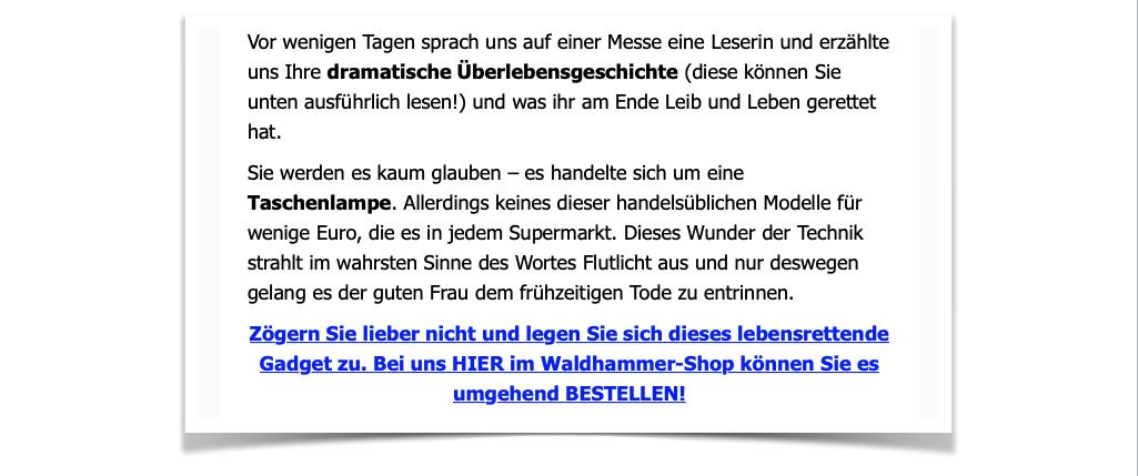 Waldhammer Mail vom 16.06.2019