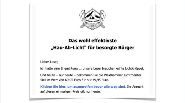 Waldhammer Mail vom 18.06.2019