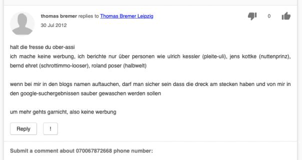 Thomas Bremer - Netzfund
